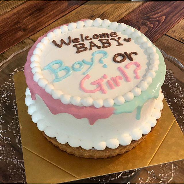 【妊娠中】ジェンダーリビールケーキ